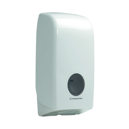 Aquarius Bulk Pack Toilet Tissue Dispenser White 6946