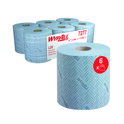 Wypall L20 Essential Centrefeed Blue (Pack of 6) 7277