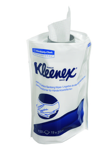 Kleenex Hand and Surface Sanitary Wipes Refill (Pack of 6) 7783