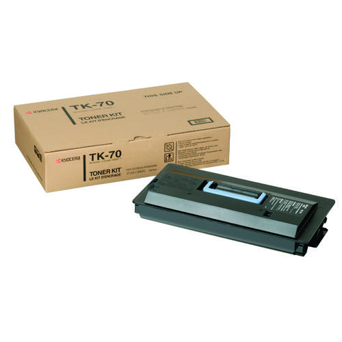 Kyocera TK-70 Black Toner Cartridge (40,000 Page Capacity)