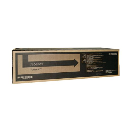 Kyocera TK-6705 Black Toner Cartridge