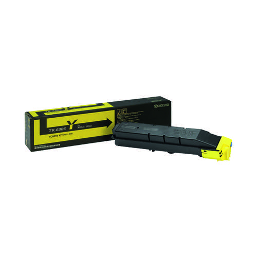Kyocera Yellow TK-8305Y Toner Cartridge