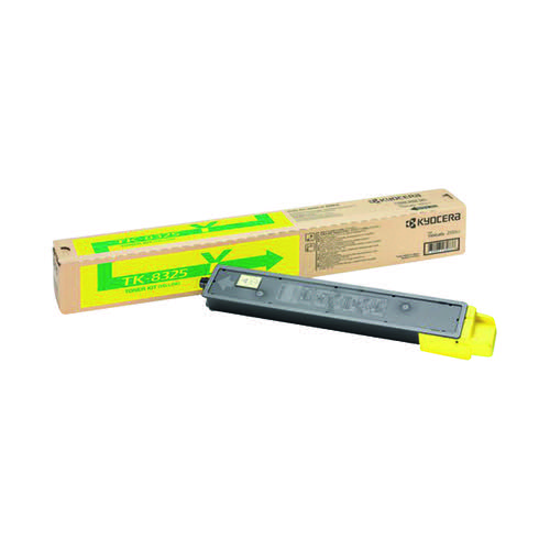 Kyocera Yellow Toner Cartridge TK-8325Y