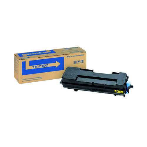 Kyocera Black TK-7300 Toner Cassette (15,000 Page Capacity) Toner KE03354
