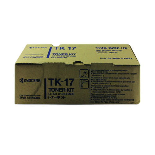 Kyocera Black Toner Cartridge (6,000 Page Capacity) TK-17