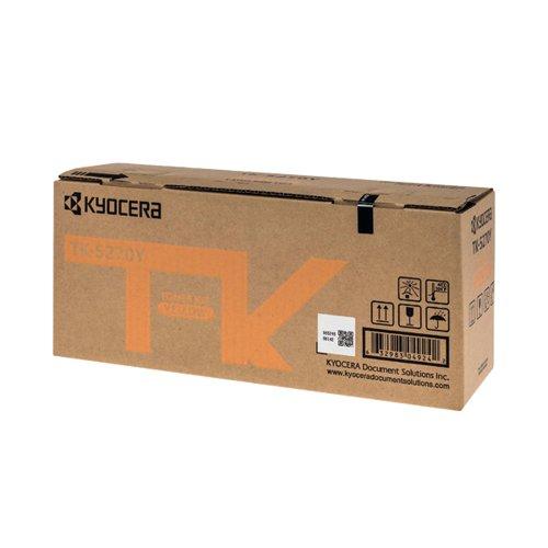 Kyocera Toner Cartridge Yellow TK-5270Y 1T02TVANL0