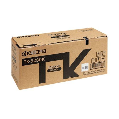 Kyocera TK-5280K Black Toner Cartridge (13,000 page capacity) 1T02TW0NL0