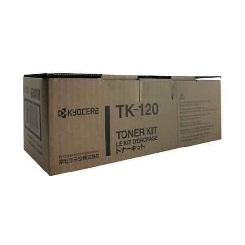 Kyocera TK-120 Black Toner Cartridge (7200 Page Capacity)