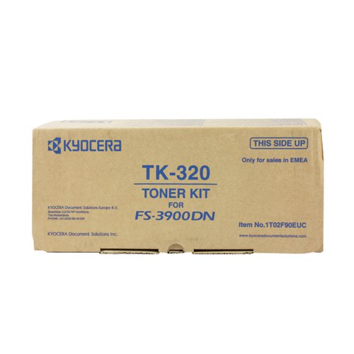 Kyocera TK-320 Black Toner Cartridge (15 000 Page Capacity)