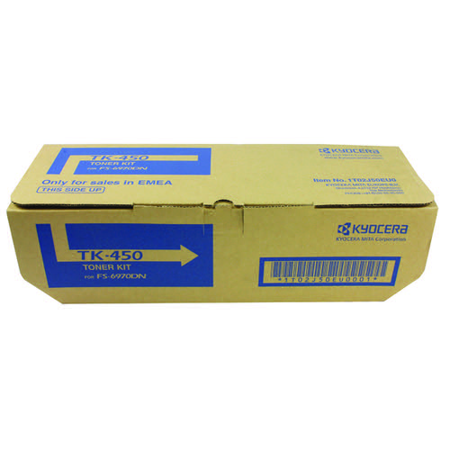 Kyocera TK-450 Black Toner Cartridge (15000 Page Capacity)
