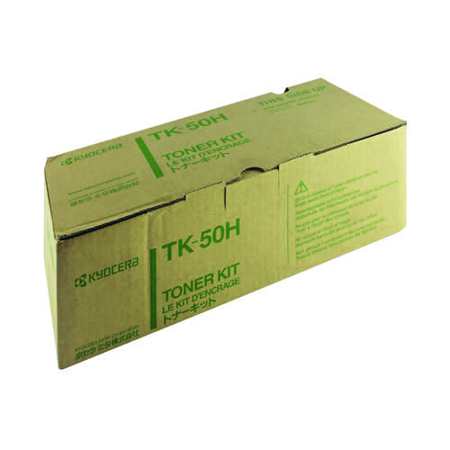 Kyocera Black Toner Cartridge High Capacity TK-50H