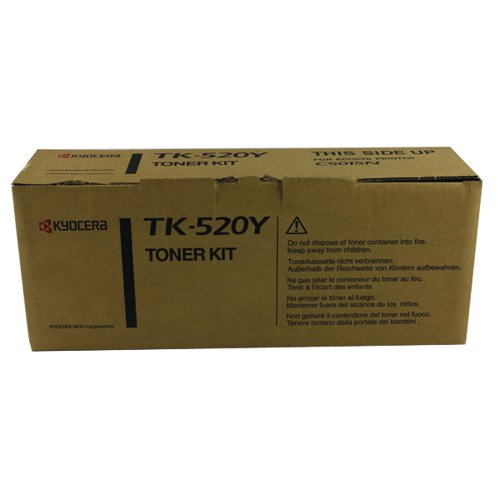 Kyocera Yellow TK-520Y Toner Cartridge