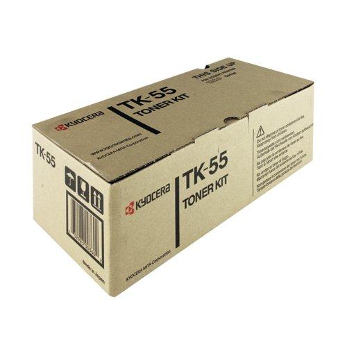 Kyocera Black Toner Cartridge High Capacity (15000 page capacity) TK-55