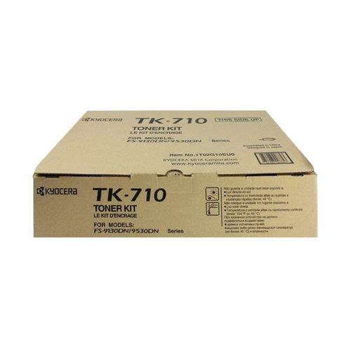 Kyocera TK-710 Black Toner Cartridge (40 000 Page Capacity)