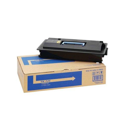 Kyocera TK-725 Black Toner Cartridge (34,000 Page Capacity)