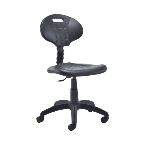 Jemini Factory Chair PU Black KF00197