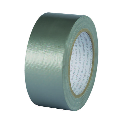 Q-Connect Duct Tape 48mmx25m Silver KF00290