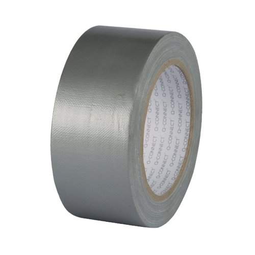 Q-Connect Duct Tape 48mmx25m Silver KF00290 - KF00290