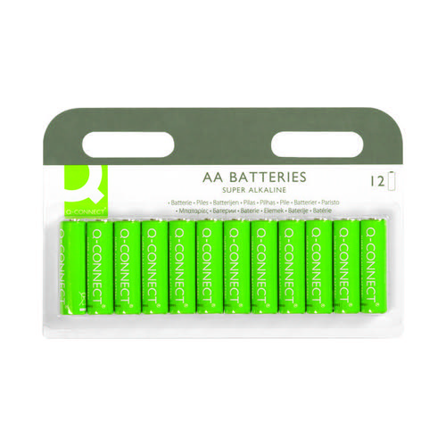Q-Connect AA Battery (Pack of 12) KF00644