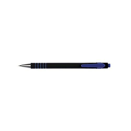 Q-Connect Lamda Ballpoint Pen Medium Blue (Pack of 12) KF00673