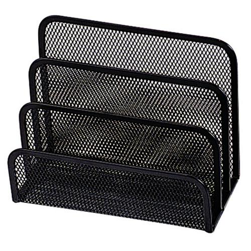 Q-Connect Mesh Letter Sorter Black KF00876