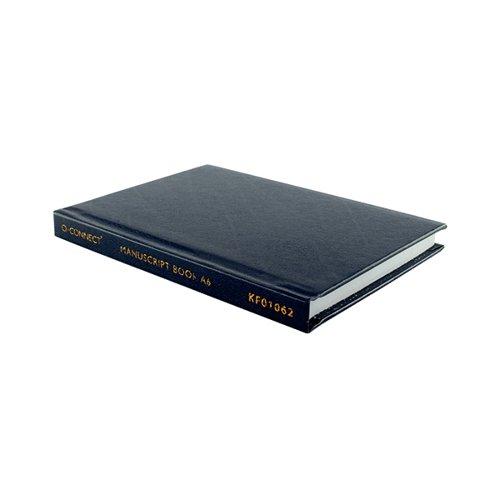 Q-Connect A6 Manuscript Book Feint 96pp J00066