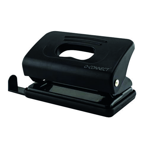 Q-Connect Light Duty Hole Punch Black 875