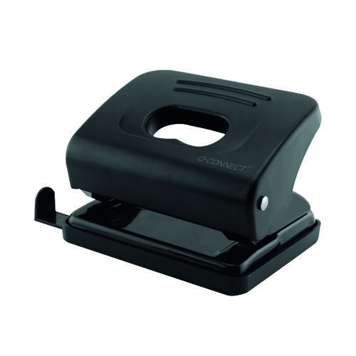 Q-Connect Medium Duty Hole Punch 20 Sheet Black 87