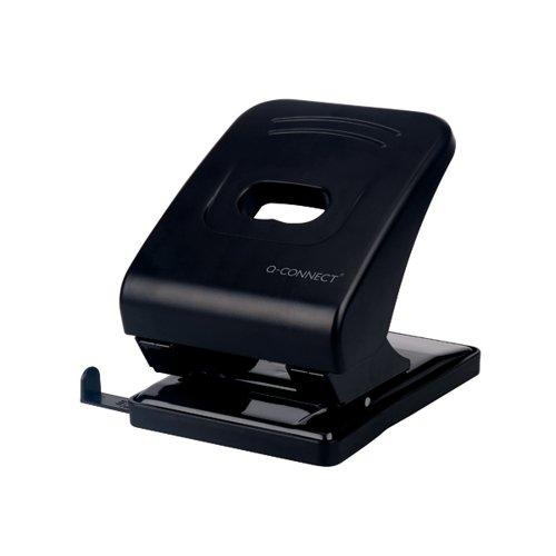 Q-Connect Heavy Duty Hole Punch Black KF01236