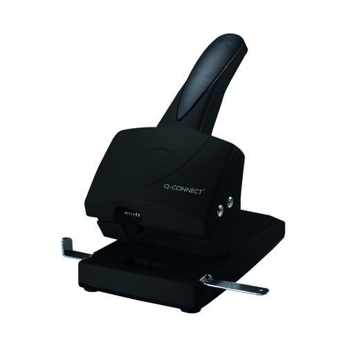 Q-Connect Extra Heavy Duty Hole Punch 60 Sheet Black 865P