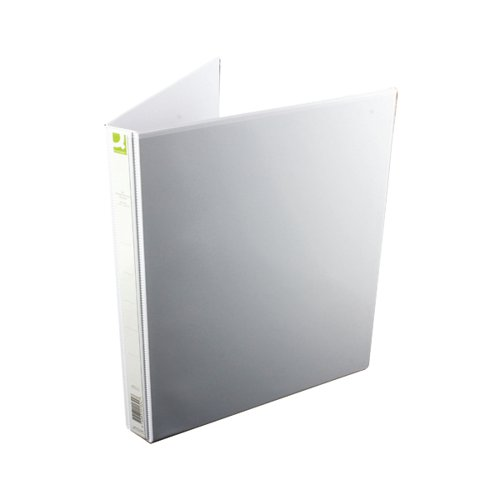 Q-Connect Presentation 16mm 4D-Ring Binder A4 White (Pack of 6) KF01324Q