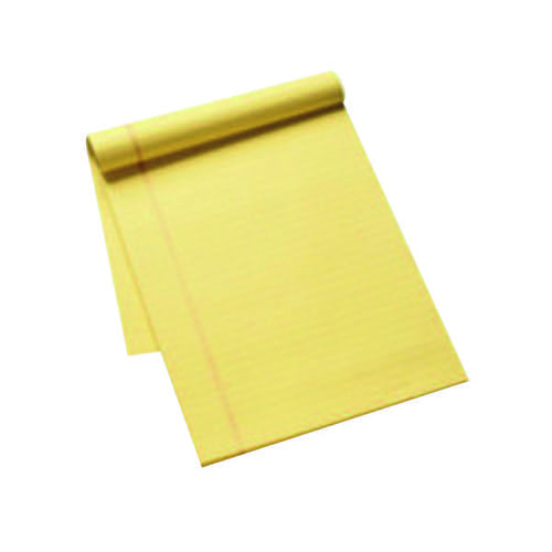 Q-Connect Ruled Stitch Bound Executive Pad 50 Pages A4 Yellow (Pack of 10) KF01387