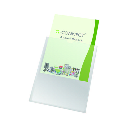 Q-Connect Card Holder Polypropylene A4 (Pack of 100) KF01947