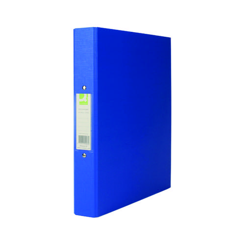 Q-Connect 25mm 2 Ring Binder Polypropylene A4 Blue (Pack of 10) KF02003