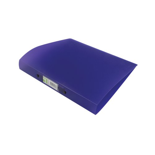 Q-Connect Purple A4 25mm 2 Ring Binder Frosted (Polyproyylene covers) KF02486