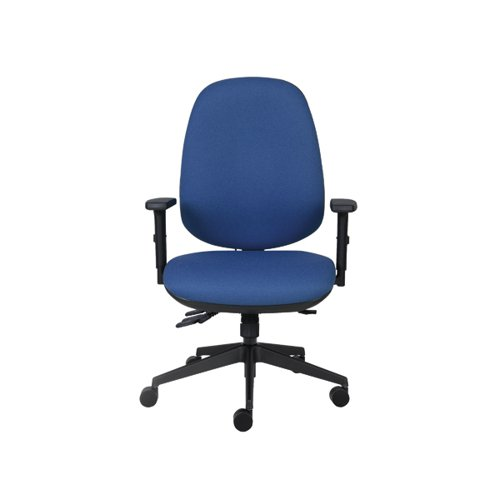 Cappela High Back Posture Chair Blue KF03494