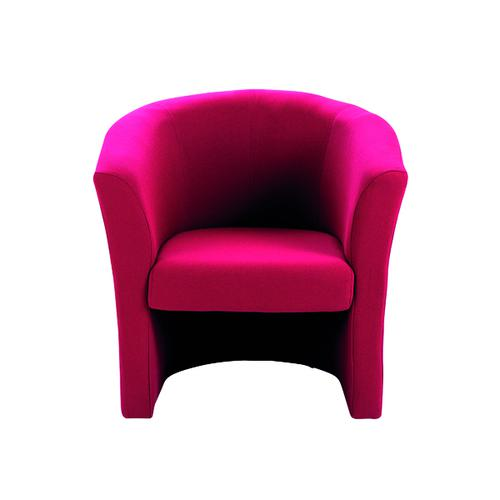 Arista Claret Tub Chair Fabric KF03523
