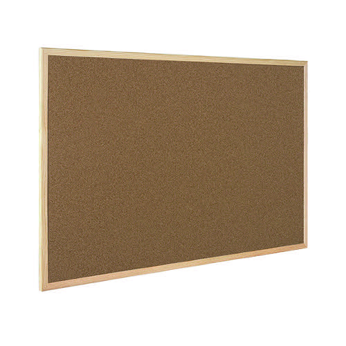 Q-Connect Lightweight Cork Noticeboard 900x1200mm KF03568