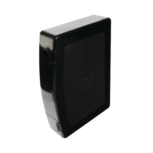 Q-Connect Box Foolscap File Polypropylene Black KF04102