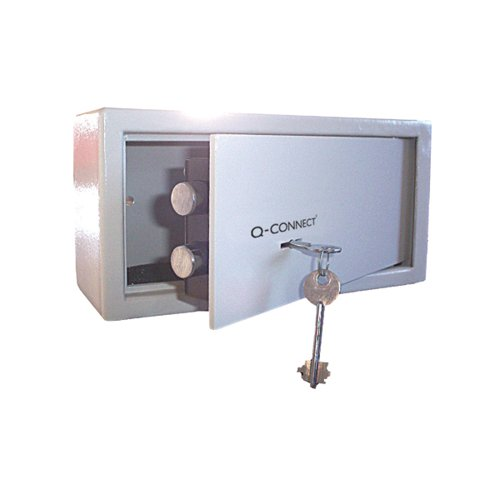 Q-Connect Key-Operated Safe 6 Litre 150x200x200mm KF04387