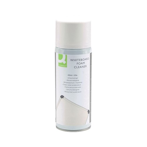 Q-Connect Whiteboard Surface Foam Cleaner (Not to be used on Screens) KF04504