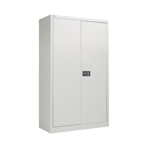 Jemini 2 Door 1806mm Storage Cupboard Grey KF08087