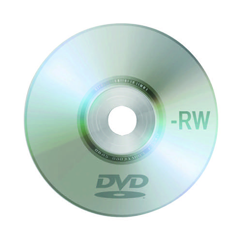 Q-Connect DVD-RW Slimline Jewel Case 4.7GB KF08214