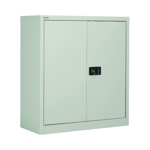 Jemini 2 Door 1000mm Stationery Cupboard Grey KF08501