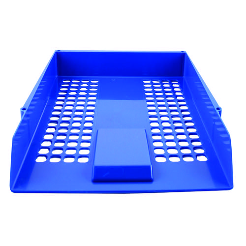 Q-Connect Letter Tray Blue CP159KFBLU