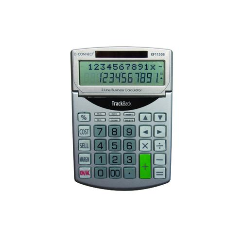 Q-Connect Semi-Desktop 12 Digit-Calculator KF11508