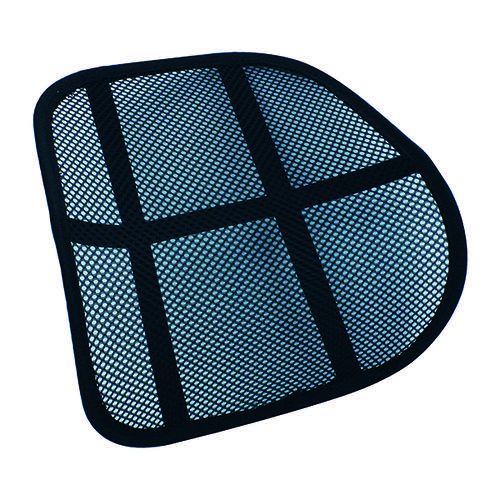Q-Connect Mesh Back Support Black KF15413
