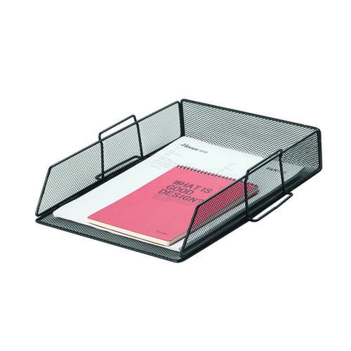 Q-Connect Stackable Letter Tray Black KF17293