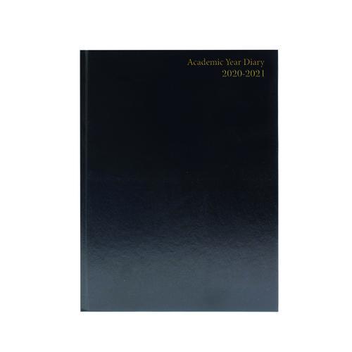 Academic Diary Diary Day Per A5 Black 2020-21 KF1A5ABK21