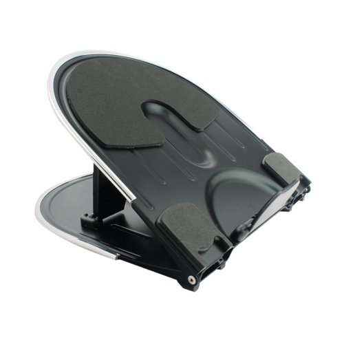 Q-Connect Aluminium Laptop Stand Black KF20077